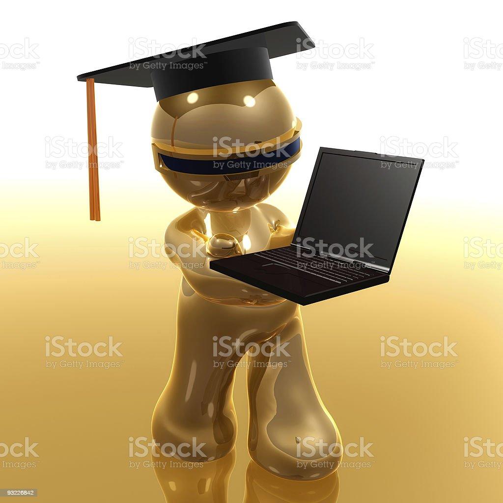 Fotografía de Graduados De Distancia De Aprendizaje En Línea 3d ...