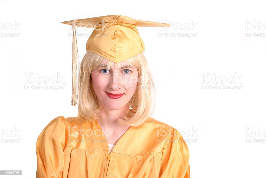 Graduated royalty-free stock photo
