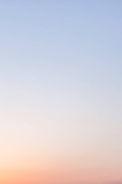 Graduated Twilight Sky Sky, Dusk, Graduation, Horizon, Abstract, Background, Wind high key stock pictures, royalty-free photos & images