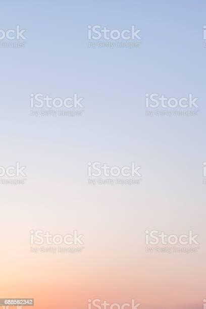 Photo of Graduated Twilight Sky