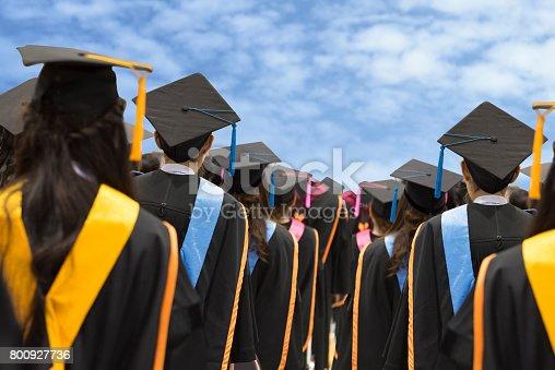 istock Graduates in university 800927736