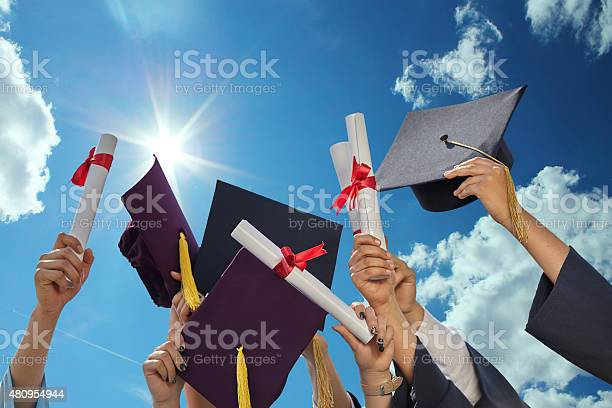 Graduates Stutents Stock Photo - Download Image Now