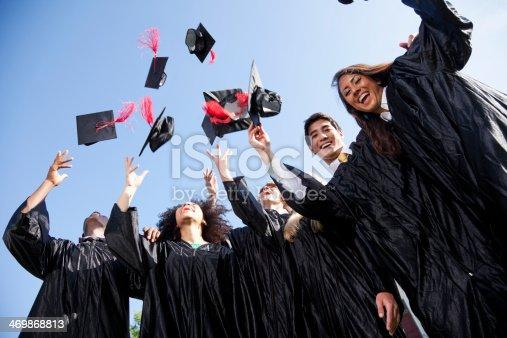istock Graduating class 469868813