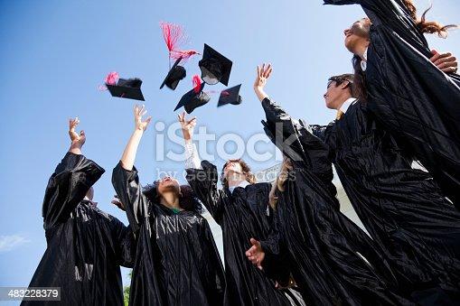 istock Graduating class 483228379