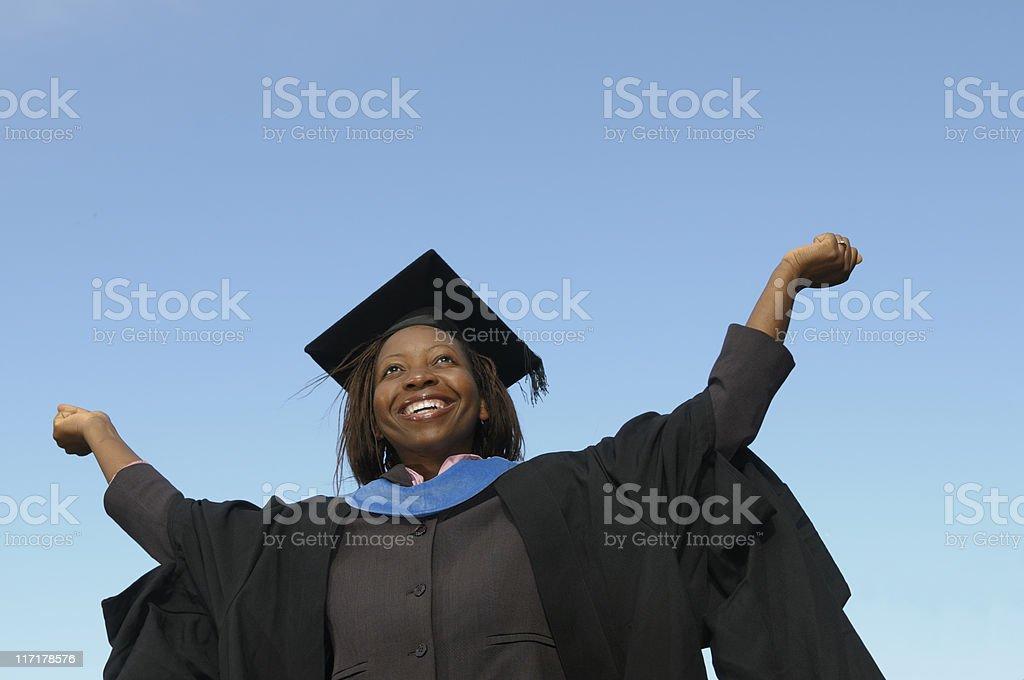 Graduating Success stock photo