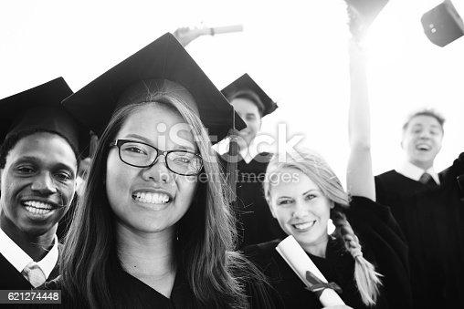 istock Graduation Achievement Student School College Concept 621274448