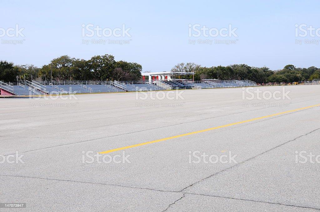 Graduation Area Parris Island stock photo