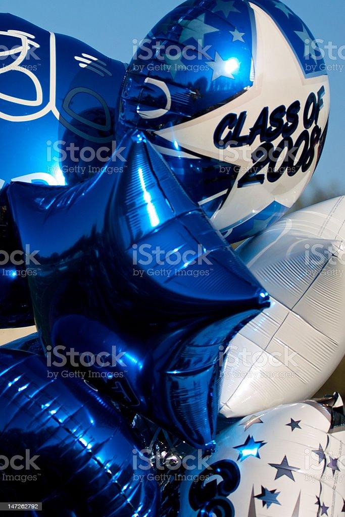 Graduación de globos - foto de stock