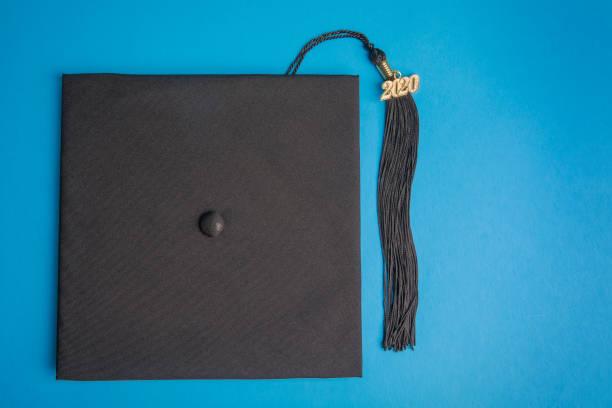 2020 Graduation Cap and Tassel stock photo
