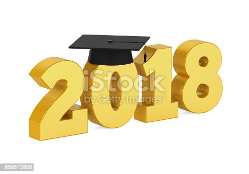 istock 2018 Graduation Cap Isolated 856872806