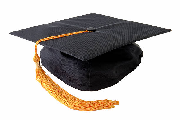 graduation cap - graduation cap stock pictures, royalty-free photos & images