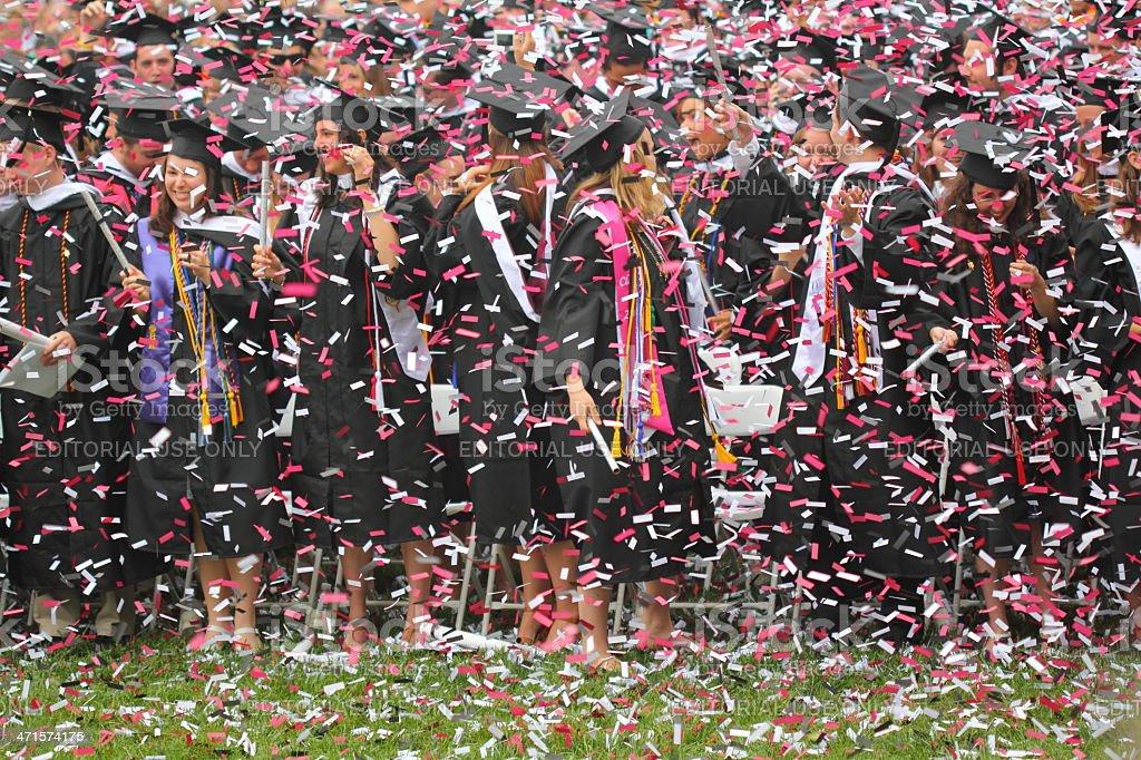 Graduation Celebration stock photo
