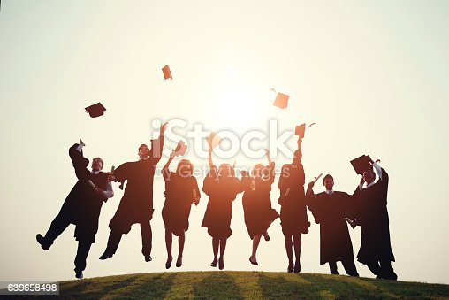 istock Graduation College School Degree Successful Concept 639698498