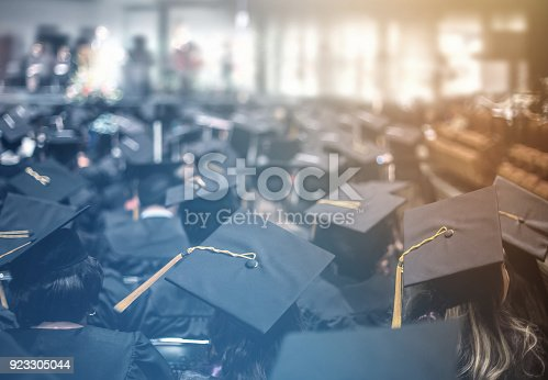 istock Graduation day. Commencement day.  Education Concept. 923305044