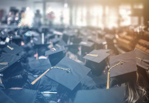Graduation Day Commencement Day Education Concept Stock Photo - Download Image Now