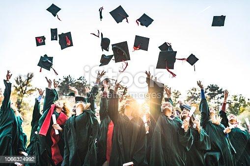 istock Graduation day! 1066324992