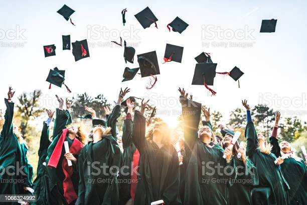 Graduation Day Stock Photo - Download Image Now