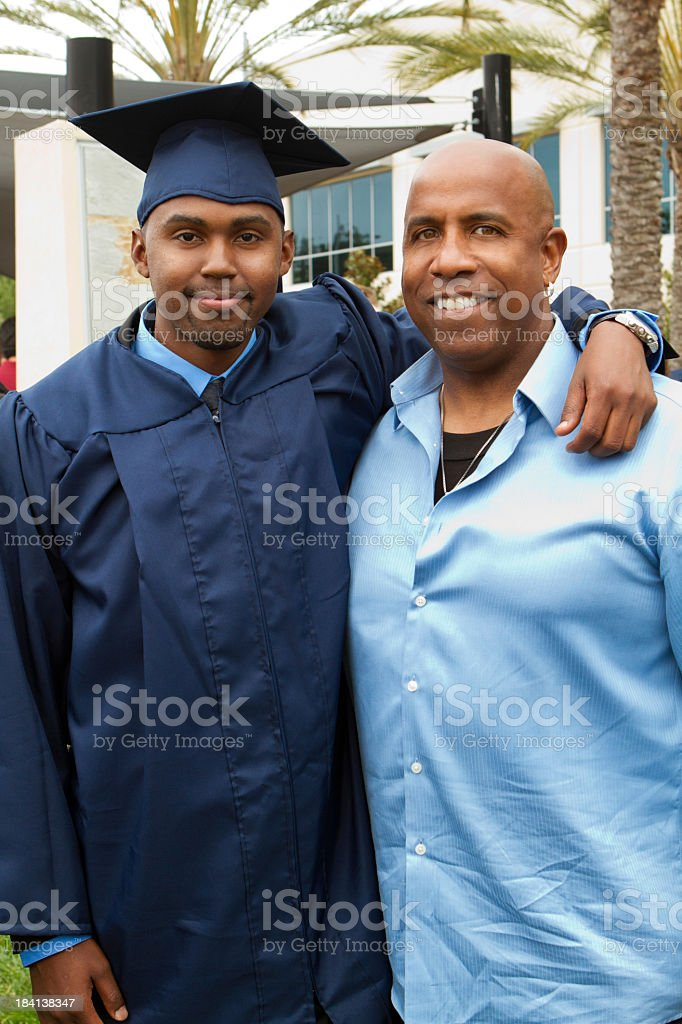 Graduation day royalty-free stock photo