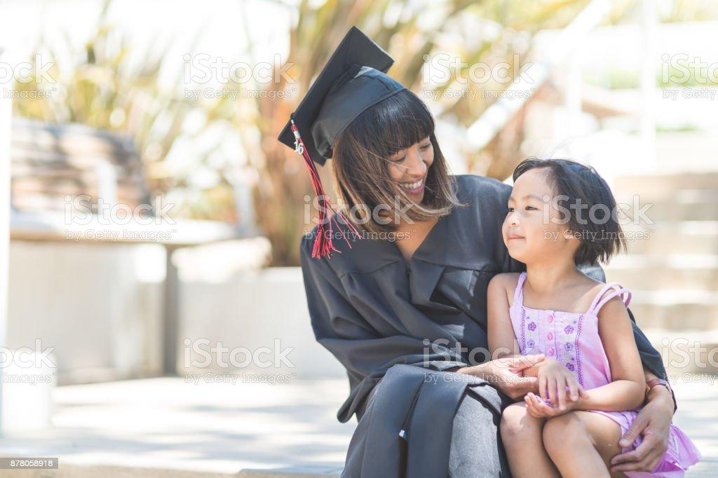 Graduation Day! stock photo