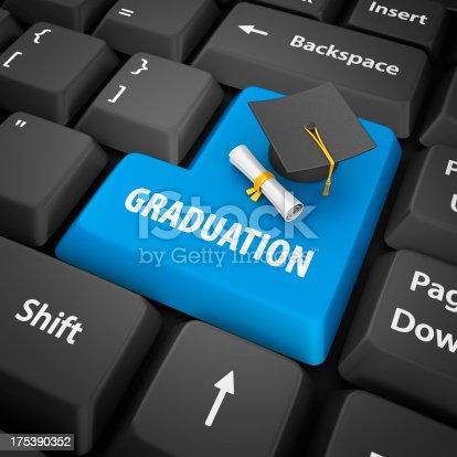istock graduation enter key 175390352
