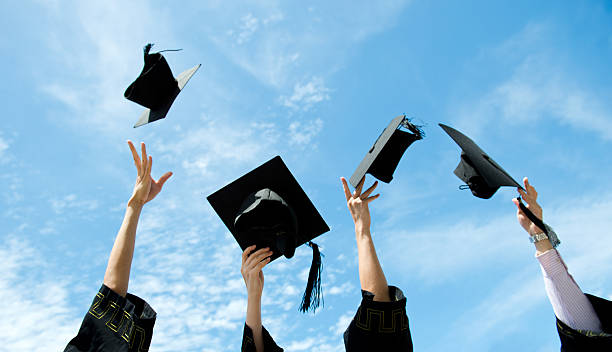 graduation-Hüte – Foto