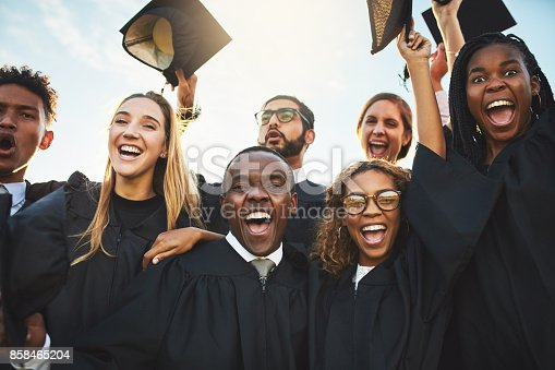 istock Graduation is an exciting time 858465204