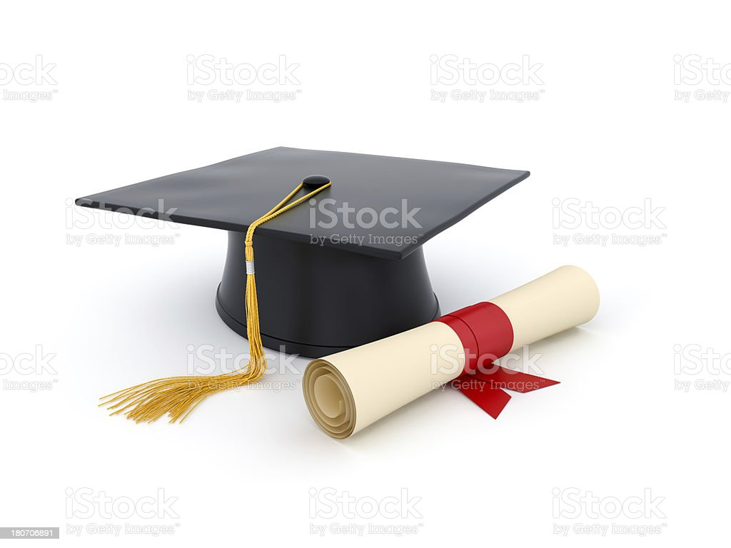 Graduation stock photo