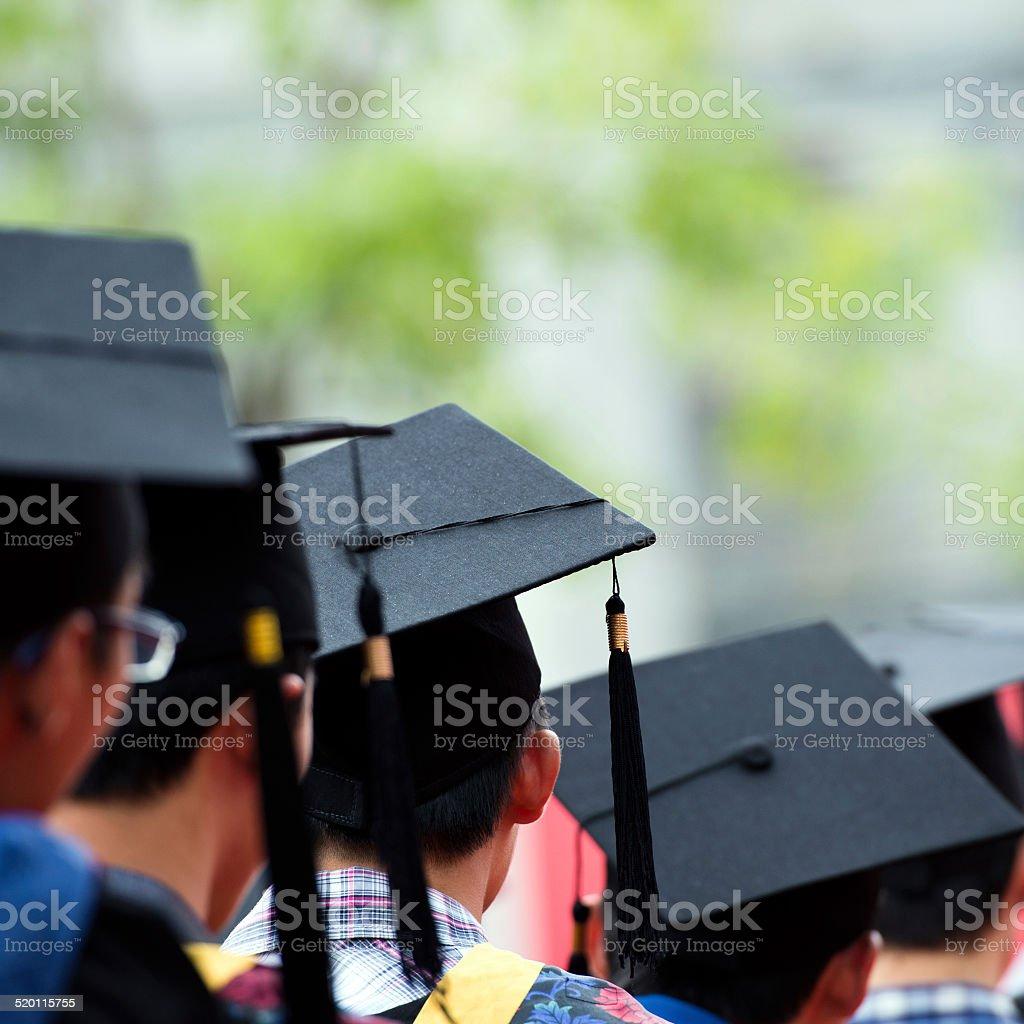 Abschlussfeier - Lizenzfrei Ausbildungsschritt Stock-Foto