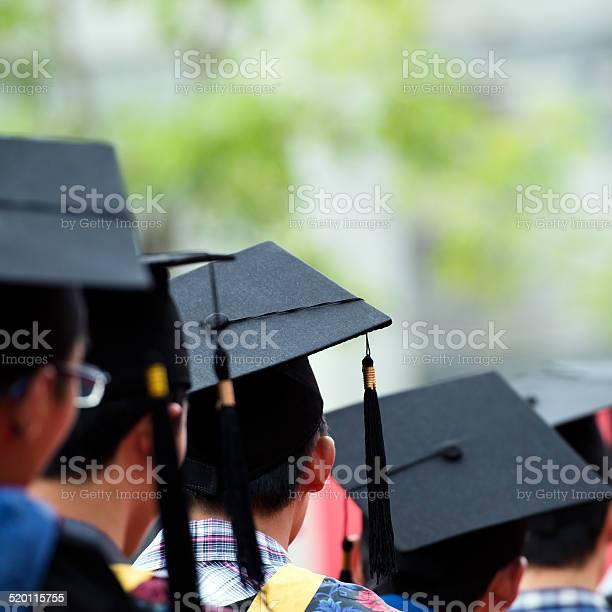 Abschlussfeier Stockfoto und mehr Bilder von Ausbildungsschritt