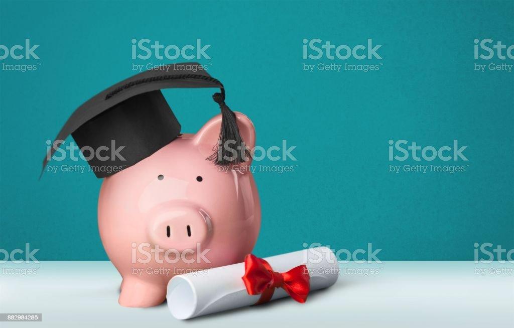 Graduation. stock photo