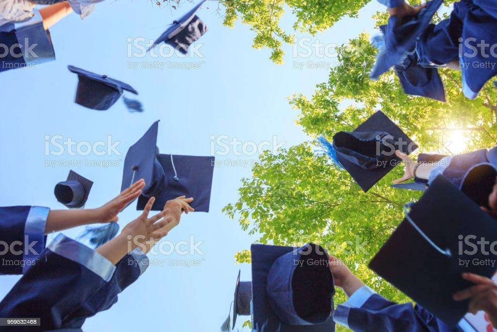 卒業式 ストックフォト