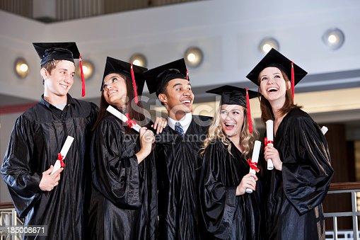 istock Graduation portrait 185008671