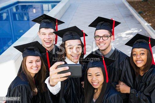 972902010 istock photo Graduation selfie 535402517
