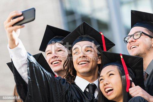 972902010 istock photo Graduation selfie 535869513