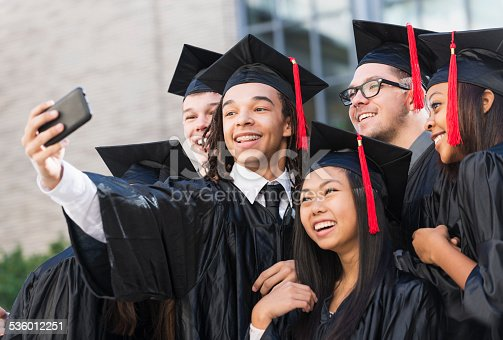 972902010 istock photo Graduation selfie 536012251