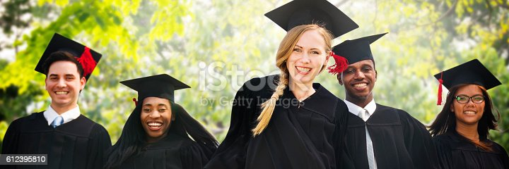 istock Graduation Student Commencement University Degree Concept 612395810