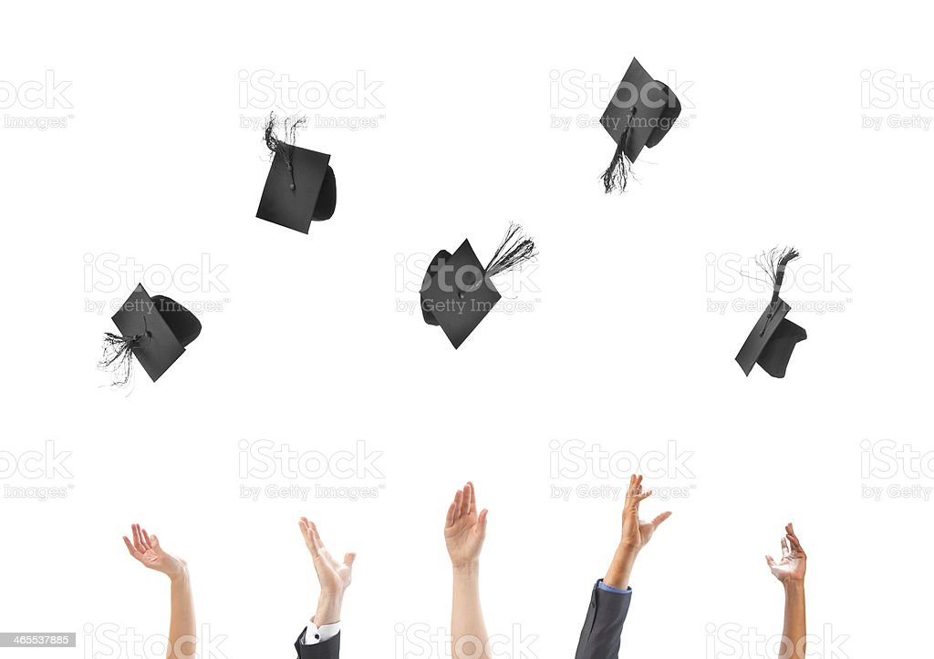 graduation success stock photo