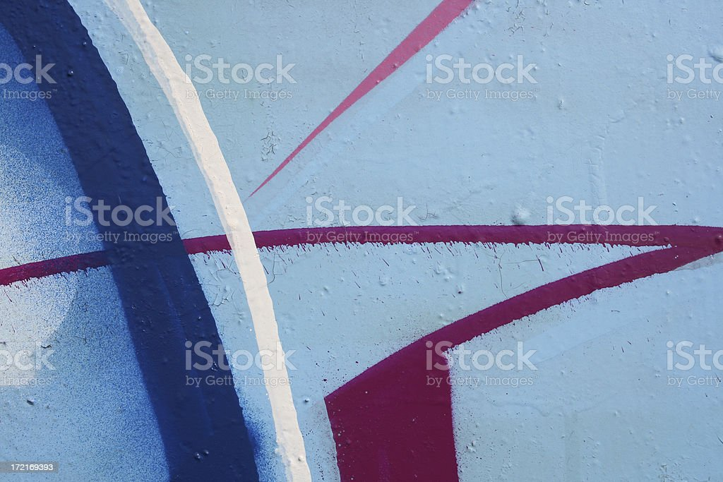 Graffiti Abstraction royalty-free stock photo