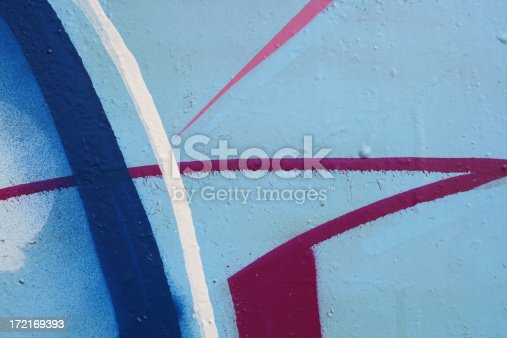 Abstract detail of a spray painted graffiti wall.Look at my related exclusive lightbox: