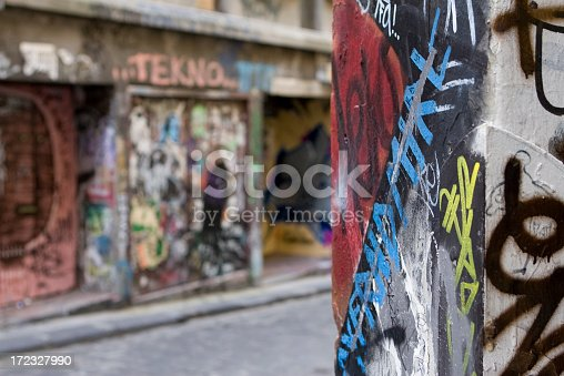 534781401 istock photo Graffiti Alley, Inner City Melbourne, Australia 172327990
