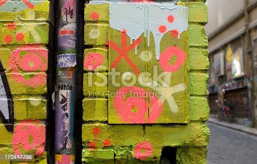 534781401 istock photo Graffiti Alley, Inner City Melbourne, Australia 172417736