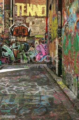 534781401 istock photo Graffiti Alley 172702772