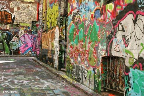 534781401 istock photo Graffiti Alley 172730210