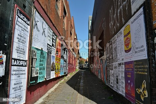 488380038 istock photo Graffiti and Mural in Melbourne, Victoria - Australia 862608982