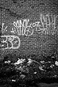 istock graffiti and trash 92331490