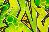 """Close-up shot of an illegal graffiti painted on a public wall. (Canon 5D Mark II, Adobe RGB)"""