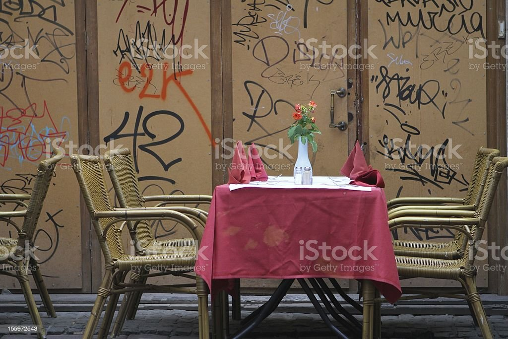 Graffiti Cafe Stock Photo Download Image Now Istock