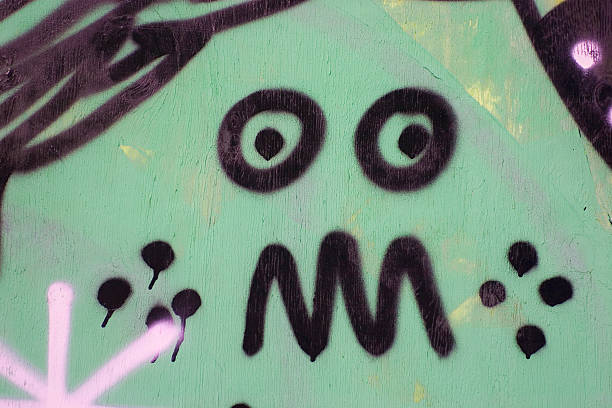 Graffiti closeup  dazzled stock pictures, royalty-free photos & images