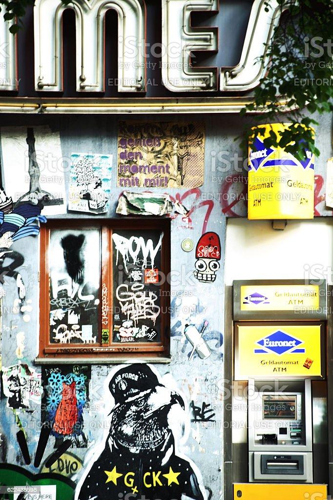 Graffiti in Berlin Friedrichshain – Foto