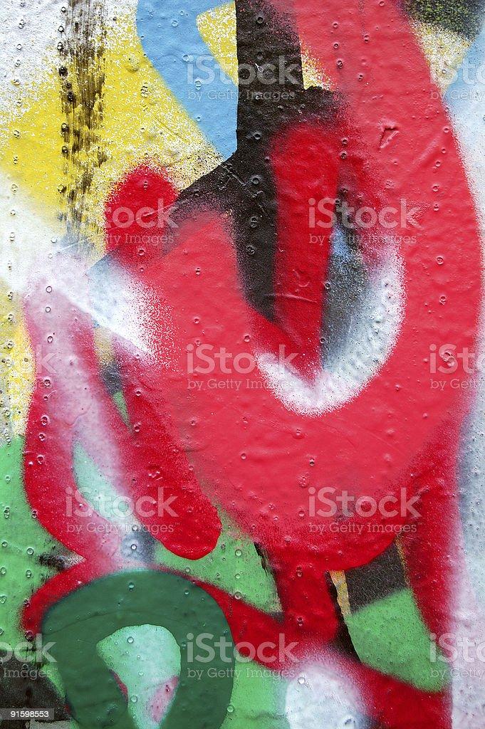 graffiti layers stock photo
